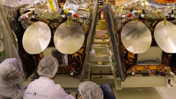 Airbus produziert Kleinsatelliten am Fließband