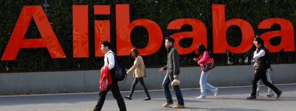 Der Online-Händler Alibaba komt über den größten Börsengang der Technologiebranche an die New Yorker Stock Exchange.
