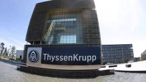 Kraft bezeichnet Diskussionen um Thyssen-Krupp als 'Schwarzmalerei'