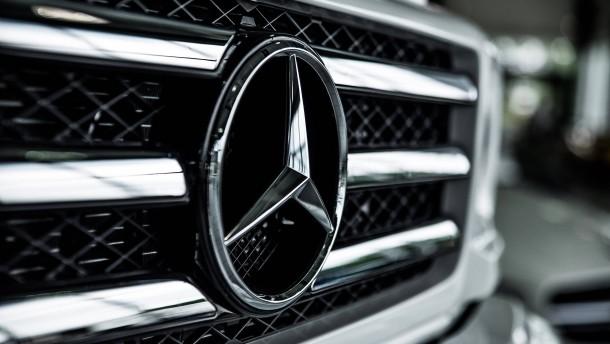 Der neue Daimler-Konzern ganz in Grün