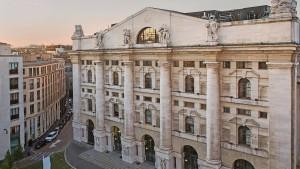 Italienische Regierung könnte bei Börse einsteigen
