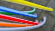 Der Stoff für die Breitbandversorgung: Rohre für Glasfaserkabel