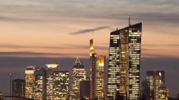 Finanzplatz Frankfurt steigt auf