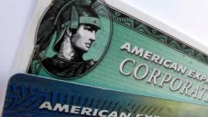 American Express profitiert von Konsumfreude