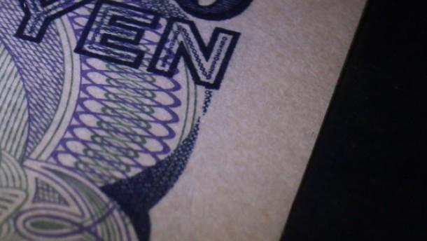 Yen steht weiter unter Aufwertungsdruck