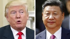 Chinas Präsident trifft Trump-Team in Davos