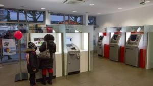 Bankkunden suchen die Filiale nur noch selten auf