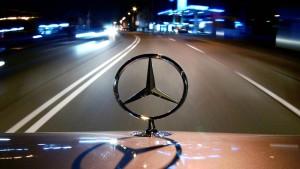 Daimler geht im Minus aus dem Handel