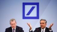 Deutsche Bank hält sich trotz Verlustüberraschung
