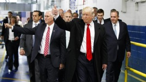 Alle wollen Trump gefallen