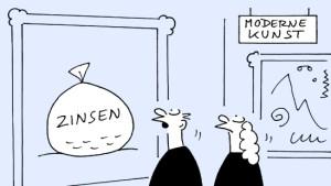 Anleger sollten Hoffnungen auf hohe Zinsen begraben