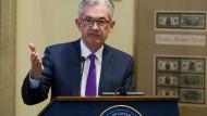 Er will weiter an Amerikas Zinsschraube drehen: Fed-Chef Jerome Powell