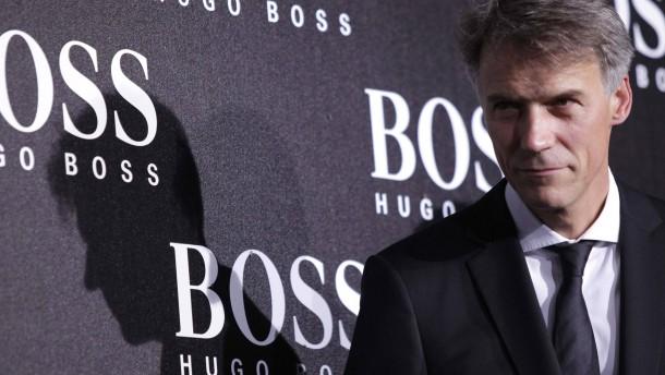 Hugo Boss tief im Minus