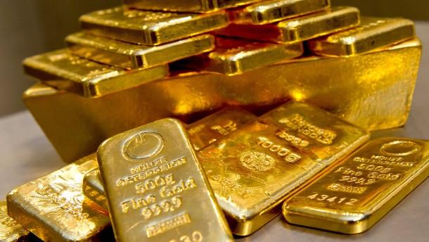 Goldpreis in Euro auf Rekordhoch