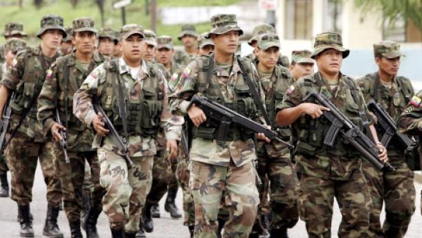 Kriegsszenario in Lateinamerika nährt Sorgen