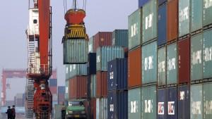 Chinas Industrie verliert Schwung