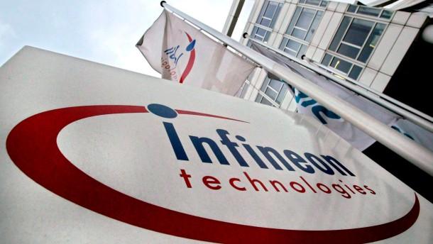 Infineon geht 10 Prozent höher aus dem Handel