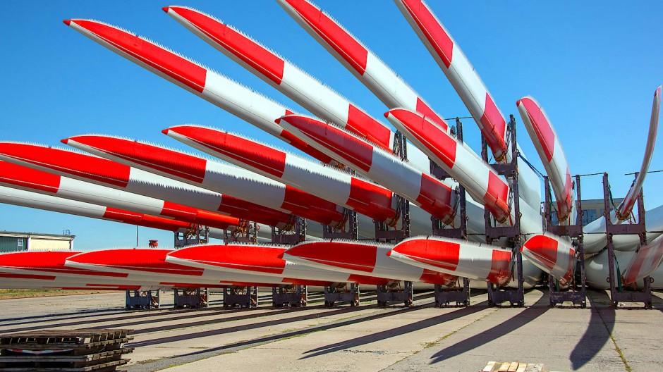 Rotorblätter für Windräder: Teil eines Megatrends - oder nur ein aktuelles Thema?