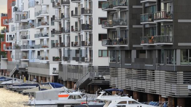 Deutlich mehr Wohnungen genehmigt