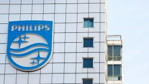 Philips erfreut Anleger mit unerwartet hohen Umsätzen