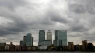 Londons Finanzdistrikt Canary Wharf: ein Auslaufmodell?