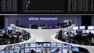 Börse auf Erholungskurs