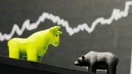 Deutsche Aktien geben Tagesgewinne komplett ab