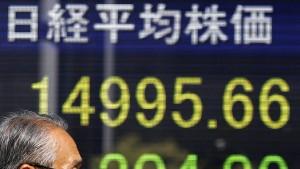 Tokios Börse auf Talfahrt
