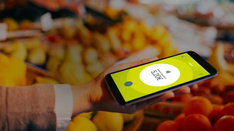 Per Smartphone bezahlen - das ist die Welt von Wirecard.