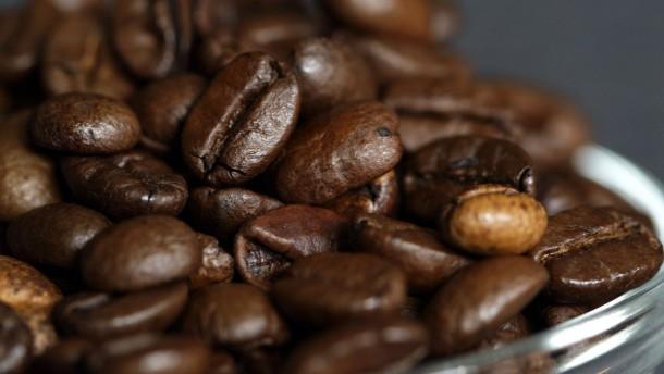 Kaffeepreise sinken