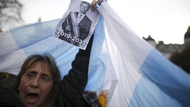 Argentinien will mit IWF über Fälligkeit von Krediten verhandeln