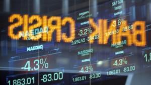 Anleger auf der Flucht