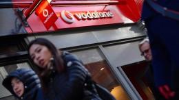 Vodafone kürzt die Dividende