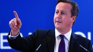 Cameron stellt sieben Forderungen zum Verbleib in der EU