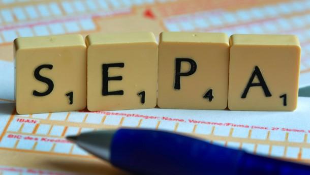 Neues Zahlungsverfahren Sepa für Unternehmen und Vereine