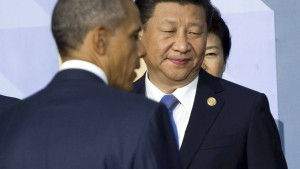 Obama und Xi spielen geopolitisches Schach