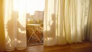 Auf der Sonnenseite: 81 Prozent der deutschen Mieter sind mit ihrer Wohnsituation zufrieden.