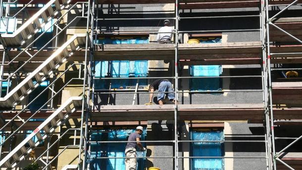 Bauherren müssen immer tiefer in die Tasche greifen