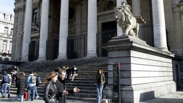 Belgiens Börse holt Corona-Rückstand auf