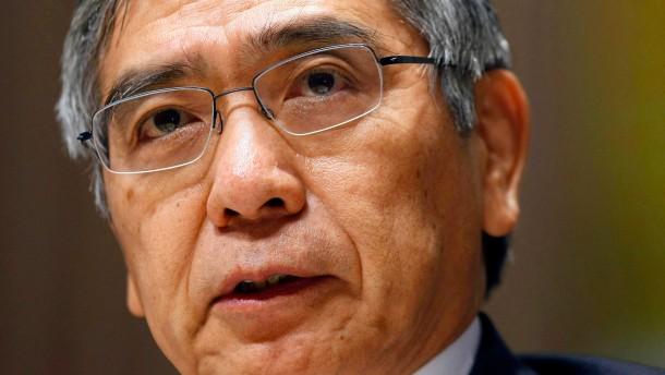 Kuroda Favorit als neuer Notenbank-Chef