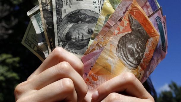 Währungen in der Hand der Zentralbanken