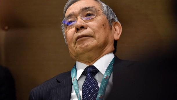 Notenbank wird ohne Not grün