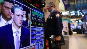 Amerikas Tech-Aktien sind über dem Zenit