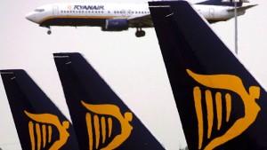 Ryanair in den roten Zahlen