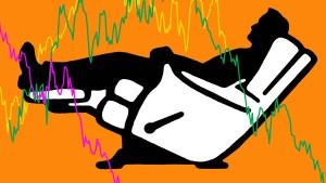 Warum sich Anleger in schweren Zeiten zurücklehnen sollten