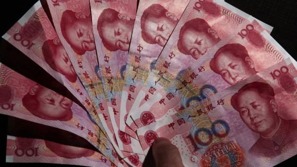 Es wird so viel mit Renminbi gezahlt wie noch nie