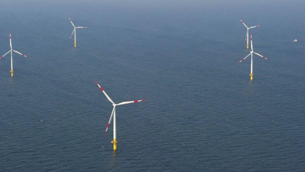Stromleitung durch die Ostsee