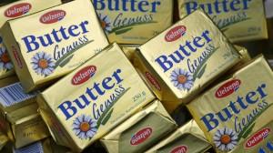 Für Butter aufs Brot müssen die Deutschen bald etwas mehr bezahlen.