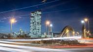 Bewegt nicht nur die Zinsmärkte: die Europäische Zentralbank in Frankfurt am Main