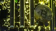 Das Auf und Ab der Kryptowährung Bitcoin geht weiter.